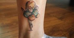 Just Pinned to Tattoos: tattoos-org: Planets Balloons by Almudena Rodríguez http://ift.tt/2q40nxZ