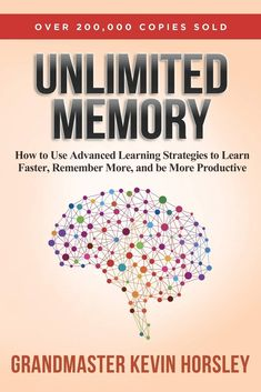 Unlimited Memory reveals the secrets for tapping into your brain's ability to achieve focus, enhancing your ability to recall information and other strategies for improving your memory. If you want to increase your productivity and become more successful in life, this book can help.  Through it, you will learn how to utilize memory prompts to remember information, dramatically boost your ability to focus and concentrate, and use other strategies to fully harness the power of your mind.