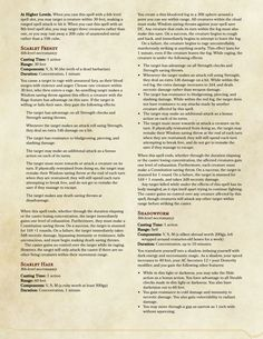DnD 5e Homebrew (Search results for: Compendium of spells)