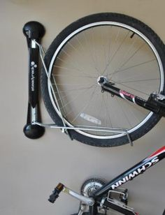 Store your bikes the best way with SteadyRack Vertical Wall Mount Bike Storage by Steady Rack! #GarageStorage #Bikes