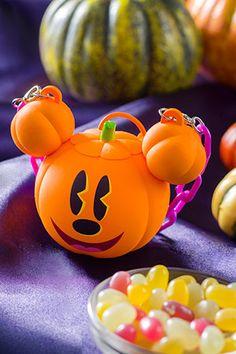 Tokyo Disney Resort Limited snack Pumpkin Candy Case Halloween Minnie Souvenir