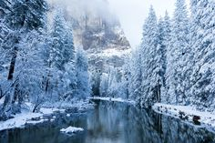 Winter Merced  Yosemite CA [OC] [20481365] #reddit