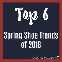 I've spent a lot of time analyzing pictures from fashion week to look at what is coming for spring shoe trends of 2018. Well, it's safe to say that anything goes in 2018. There were cowboy boots to futuristic sneakers that look like you could wear them on the moon to spiky stilettos and chunky heels. If you want to wear it, you can rock it in 2018. But, let's cover some of my favorite shoes that you'll find! #shoes #fashion #devinzarda #spring #2018 #lularoe