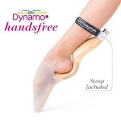 A new and effective foot stretcher for ballet. A personal portable tool to improve the feet of dancers and gymnasts. The Original and the only US Patent.