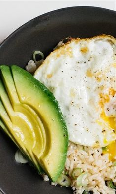 Rice Bowl with Fried Egg and Avocado Recipe.  | healthy food | | healthy foods for picky eaters | #healthyfoodsrecipes #pickyeaters https://www.tigermedical.com