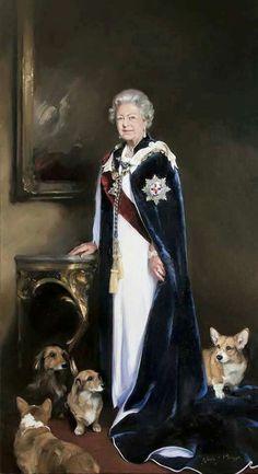 Queen Elizabeth the II