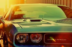 Challenger, back when muscle was measured, cubic inches