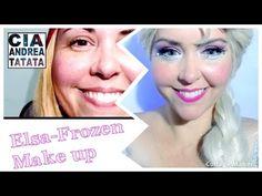 Elsa - Frozen - Make Up Tutorial - Cia Andrea Tatata