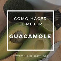 La mejor receta de Guacamole, esta receta es fácil de hacer y no lleva ni picante ni especias. Perfecto para aquellos a los que nos encanta el aguacate...y el sabor de la lima!