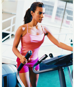Burn 300 calories in 30-minutes with this fast and effective elliptical routine. Download and print an easy-to-follow chart that shows you how to switch up the direction and intensity on the cardio machine to maximize fat-burning and lean-muscle mass. To really get motivated, pair the plan with our high energy workout playlist.