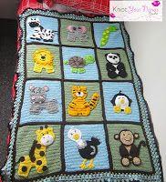 Zoo Blanket pattern for sale