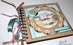 Crafter's Companion Halcyon Days CD-ROM 6x6 Memory Book