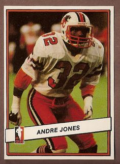 a72b41fe Andre Jones CFL card 1985 Jogo #44 BC Lions UNLV Rebels Nfl Football,  Football