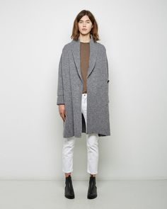 Shop Sweaters on La Garconne, an online fashion retailer specializing in the elegantly understated. Sweater Sale, Sweater Cardigan, Autumn In New York, Shearling Jacket, Acne Studios, Personal Style, Normcore, Menswear, Fashion Looks
