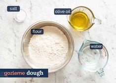 How to make no yeast Gozleme flatbread Scottish Recipes, Turkish Recipes, Romanian Recipes, Healthy Breakfast Recipes, Snack Recipes, Healthy Meals, Cake Recipes, Healthy Food, Cooking Recipes