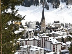 This Is Davos, The Beautiful Swiss Resort Town That's Been Taken Over by World Leaders Away We Go, Ski Holidays, Davos, World Economic Forum, Swiss Alps, World Leaders, Zurich, Oh The Places You'll Go, Vacation Spots