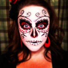 Day of the dead Hair Style | Hair By Me. Hair, Beauty , Braids ...
