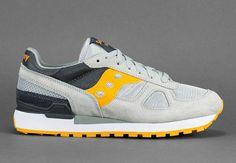 Saucony Shadow Original - Grey - Orange - SneakerNews.com