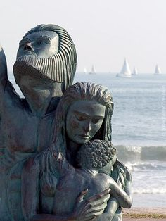 "Galveston beach memorial to the 6,000 lost souls in the ""Great Storm"" of 1900."