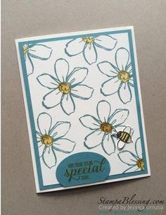 Stamp a Blessing: More Garden In Bloom for You