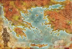 Homer's Greece by ~Stormcrow135 on deviantART