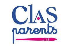 Logo CLAS parents. Ateliers animés par la Fondation Solange Bertrand avant chaque vacances scolaires en compagnie des enfants et de leurs parents. http://www.fondationsolangebertrand.fr/partenariats/
