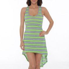 Racerback Stripe Dress