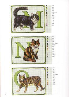 Cat Alphabet ♡ネコ 5