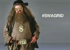 Swagrid. The Hagrid with swag. :D lol