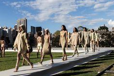 God Save the Queen and all: Kanye West x YEEZY Season 4 - Woman Collection #kanyewest #yeezyseason4 #nyfw