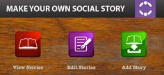 12 Computer Programs, Websites And Apps For Making Social Stories - - Repinned by @PediaStaff – Please Visit ht.ly/63sNt for all our pediatric therapy pins