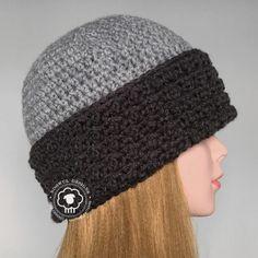 Sublime Crochet for Absolute Beginners Ideas. Capital Crochet for Absolute Beginners Ideas. Crochet Adult Hat, Bonnet Crochet, Crochet Beanie Pattern, Crochet Cap, Crochet Gifts, Crochet Scarves, Diy Crochet, Crochet Stitches, Crochet Designs
