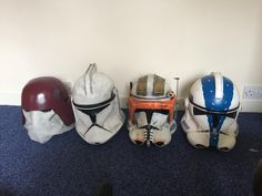 My little collection of clone wars helmets. Lets see everyone elses lids.https://ift.tt/2EqWFSG