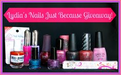 Lydia's Nails: Giveaway time!