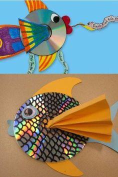 homeschool ideas | Homeschool Ideas / Recicled fish
