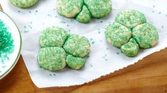 You don't need the luck 'o the Irish to make cookies so easily; it's practically magic!