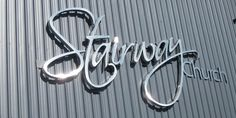 Signarama specialise in metal fabrication, manufacturing and installing standout laser cut metal signs and lettering for clients all across Australia. 3d Letters, Metal Letters, Metal Signage, Company Signage, Illuminated Signs, Building Signs, Steel Fabrication, Laser Cut Metal, Reception Signs