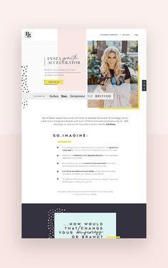 Beautiful Website Design, Website Design Inspiration, Blog Design, Ux Design, Web Design Tutorials, Website Template, Brand Names, Branding, Content