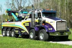 KW T800 with miller rotator.
