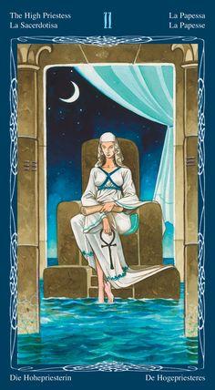 The High Priestess - Tarot of the Mystic Spiral