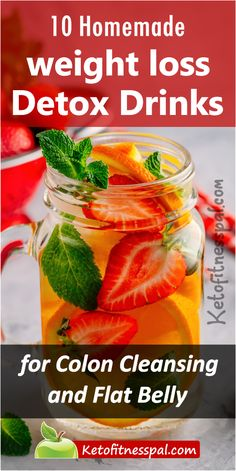 Looking for a way to stop sweet and sugar drinks for quick weight loss? Here are some tasty homemade weight loss detox drinks for a healthy substitute Yummy Juice Recipes, Detox Juice Recipes, Tea Recipes, Watermelon Detox Water, Mint Detox Water, Body Detox Drinks, Detox Your Body, Lemon Ginger Water, Homemade Detox