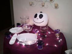 Nightmare Before Christmas food table