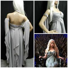 Game Of Thrones KHALEESI Daenerys Targaryen wedding by Crinolines