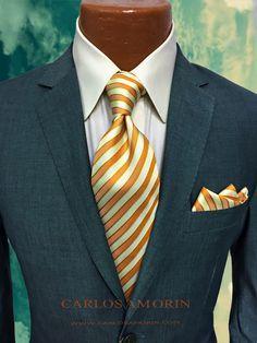 Sharp Dressed Man, Well Dressed Men, Dress Attire, Men Dress, Men's Fashion, Fashion Outfits, Herren Style, Mens Gear, Tie And Pocket Square