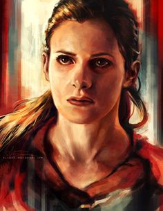 Molly Hooper for my Sherlock portrait collection. (Alice X Zhang)