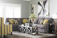 Really like this layout, simple but decorated. In love with the coffee table also!