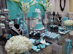 Tiffany's Baby Shower Party Ideas | Photo 2 of 17 | Catch My Party
