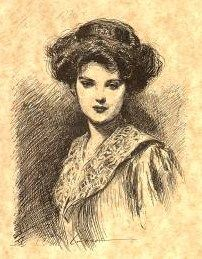 The Day Dreamillustration by Charles Dana Gibson.
