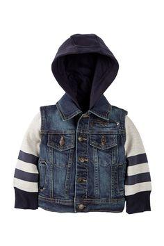 Urban Republic | 100 Woven Cotton Denim Jacket (Baby Boys) | Nordstrom Rack