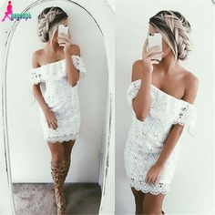 $15 http://hz.aliexpress.com/store/product/Gagaopt-2016-Spring-Summer-Lace-Dress-Off-the-Shoulder-Hollow-Out-Sexy-Dresses-Women-Dress-Free/1195726_32622913826.html